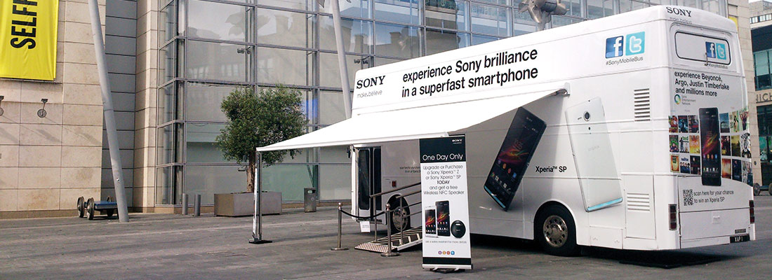 Sony Mobile UK Bus Roadshow