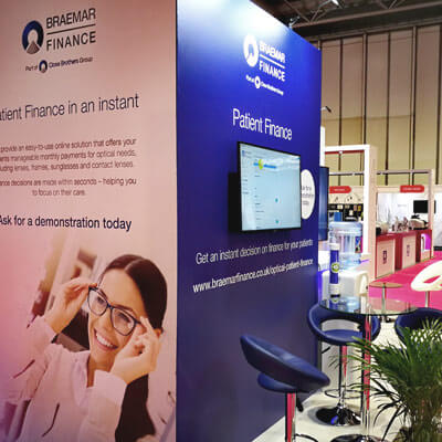 Braemar Finance Exhibition Design