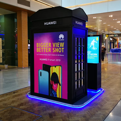 Westfield-Huawei-Phonebox