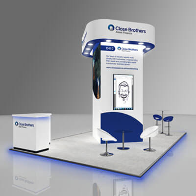 Close Brothers Asset Finance Exhibition Design
