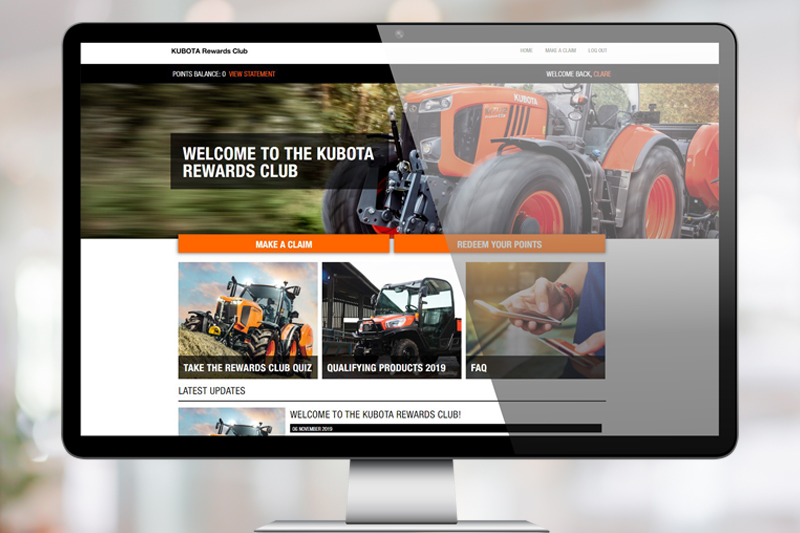 Kubota Rewards Club FMI